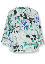 Pyrus Hive Blouse - Jungle Print