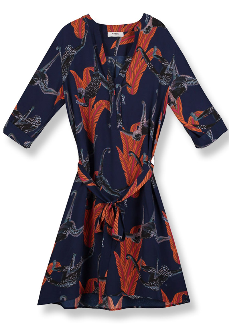 Pyrus Valetta Silk Dress - Chimp main image