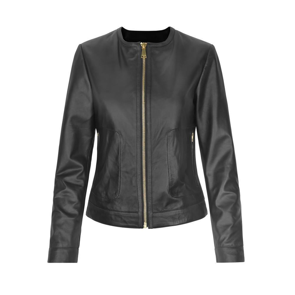 Day Petunia Leather Jacket Black