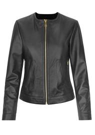 Day Birger et Mikkelsen  Day Petunia Leather Jacket  Black