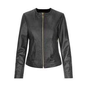 Day Petunia Leather Jacket  Black