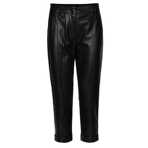 Day Dahlia Leather Trousers - Black