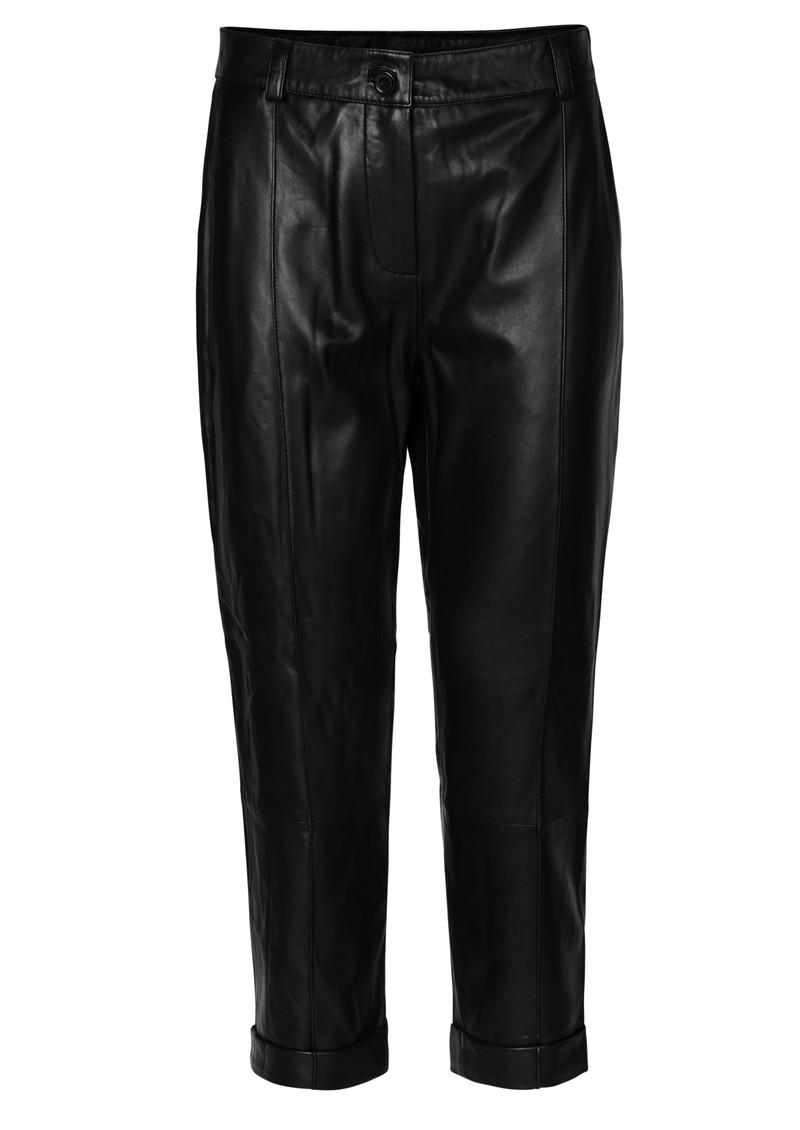 Day Birger et Mikkelsen  Day Dahlia Leather Trousers - Black main image