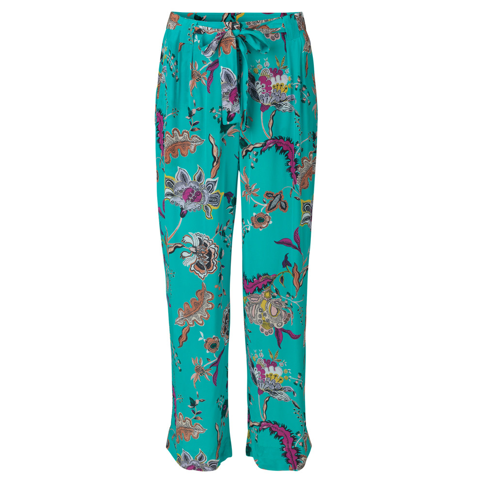 Day Iris Trousers - Turchese