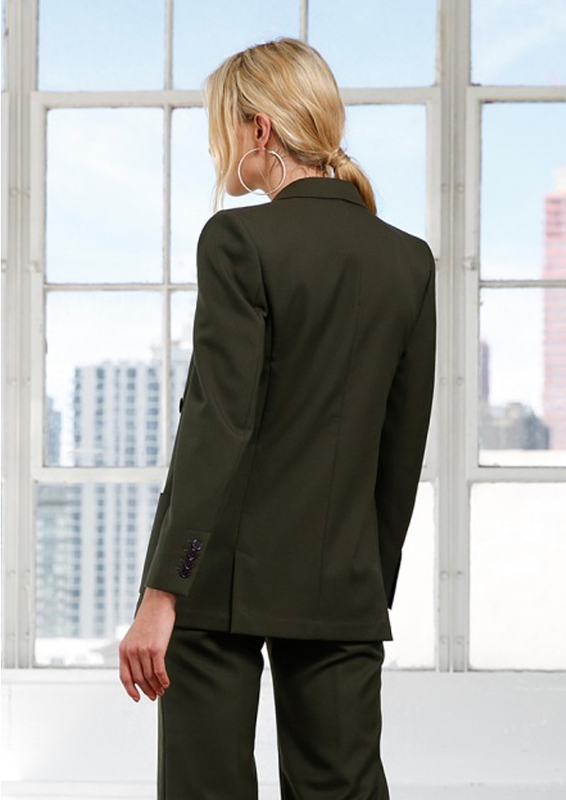 MAYLA Charlie Blazer - Forest Green main image