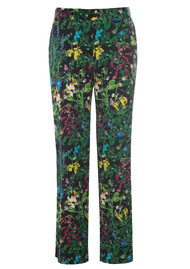DEA KUDIBAL Coco Exclusive Silk Trousers - Marry Black