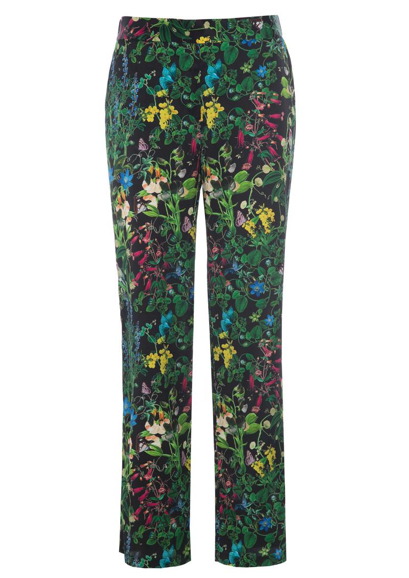 DEA KUDIBAL Coco Exclusive Silk Trousers - Marry Black main image