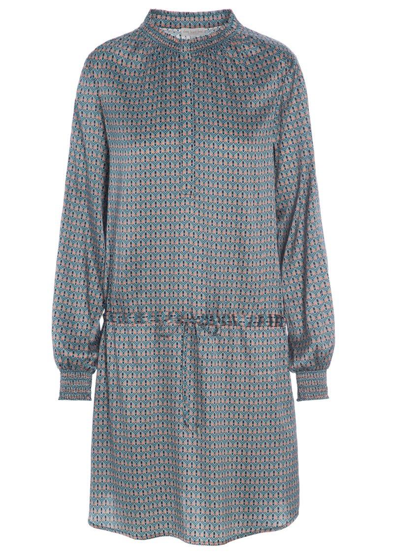 DEA KUDIBAL Aura Exclusive Silk Dress - Bee Blue main image