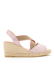 KANNA Ania Thanos Wedge Sandal - Rosa