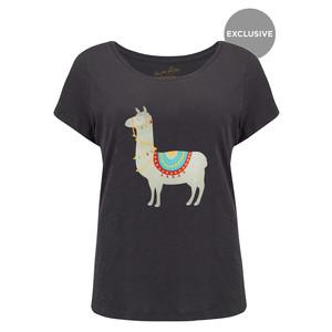 Exclusive Llama Tee - Black