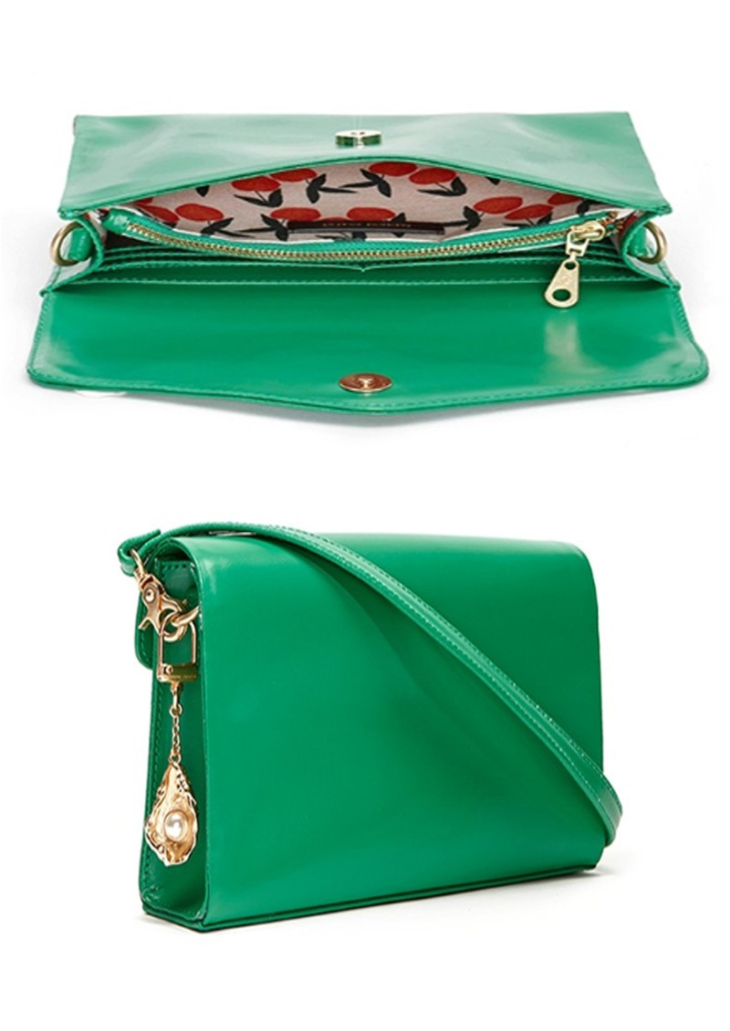 Rhea Bag - Basil Green  main image