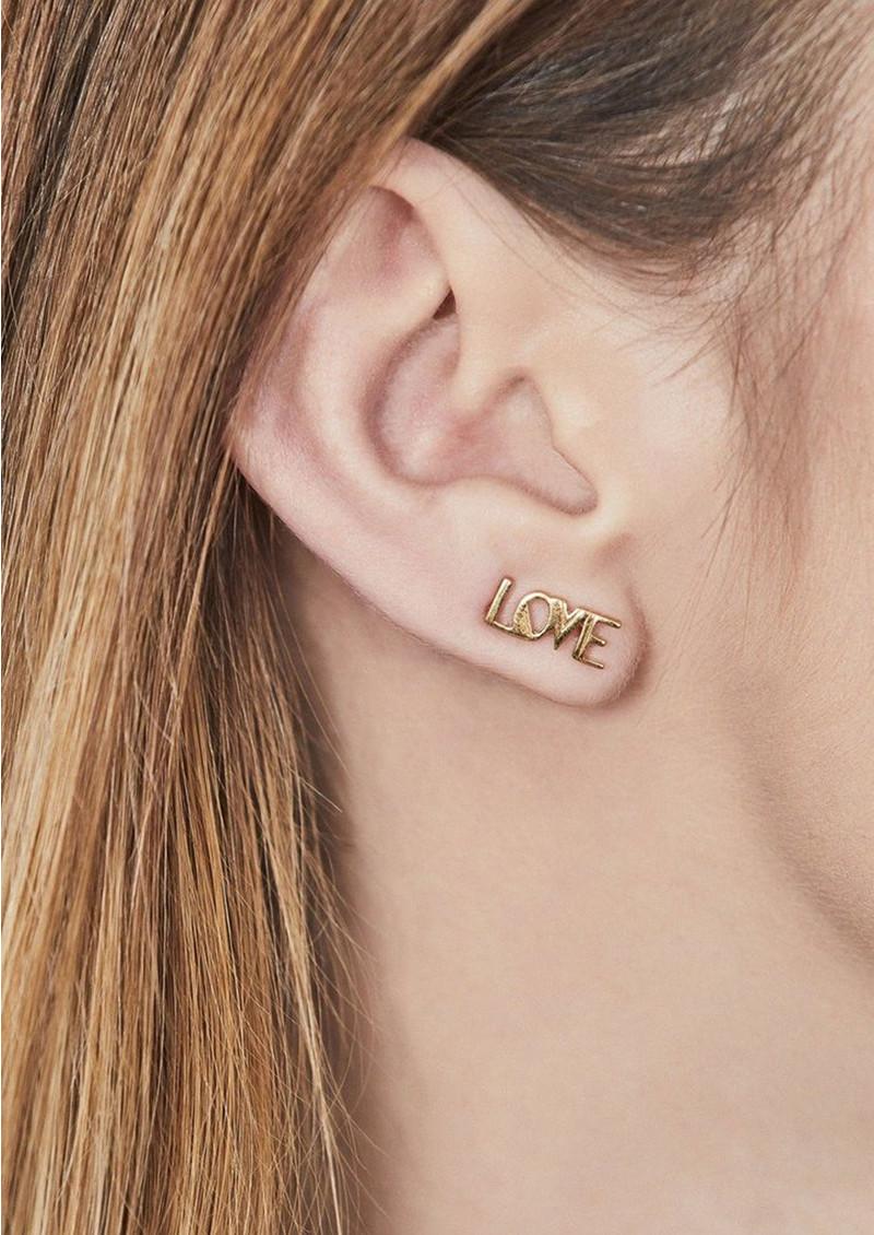 RACHEL JACKSON Love Crawlers Earrings - Gold main image