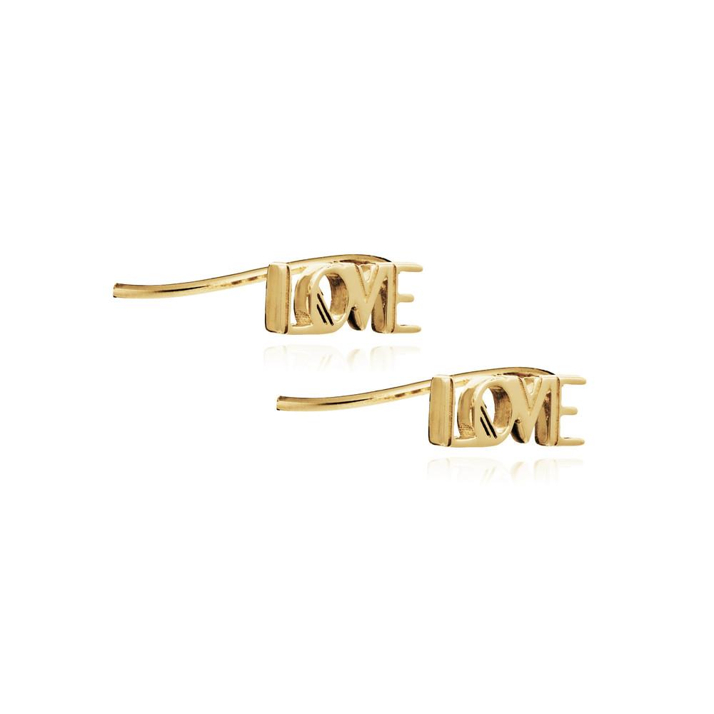 Love Crawlers Earrings - Gold