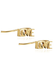 RACHEL JACKSON Love Crawlers Earrings - Gold