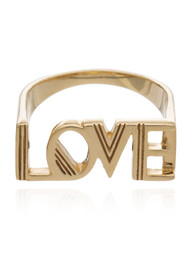 RACHEL JACKSON Love Ring - Gold