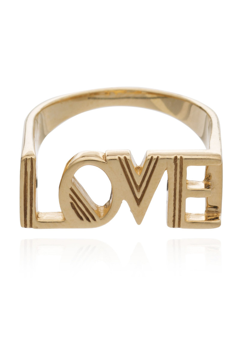 RACHEL JACKSON Love Ring - Gold main image