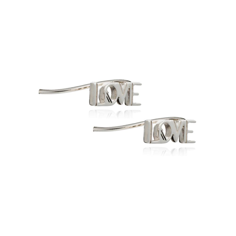 Love Crawlers Earrings - Silver