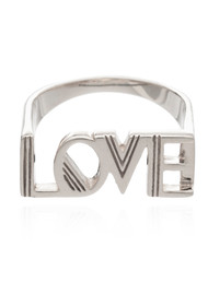 RACHEL JACKSON Love Ring - Silver