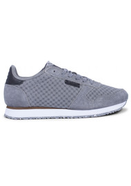 WODEN Ydun Suede Mesh Trainers - Autumn Grey