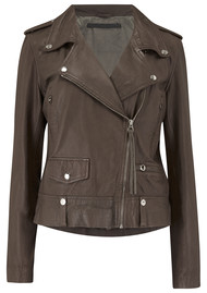 MDK New Seattle Leather Jacket - Bungee Cord