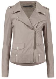 MDK New Seattle Leather Jacket - Cobblestone