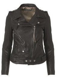 MDK London Leather Jacket - Black