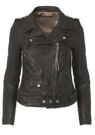 MDK London Leather Jacket - Black