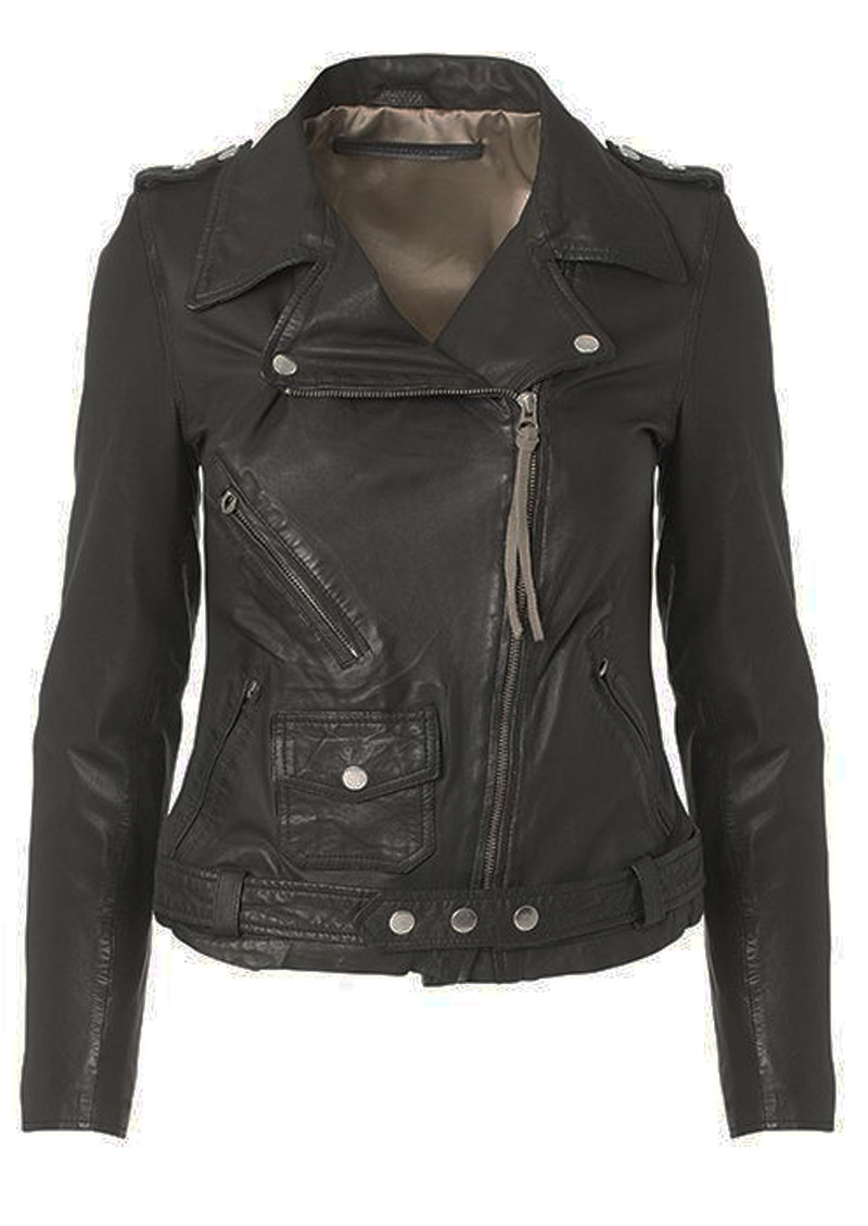 MDK London Leather Jacket - Black main image