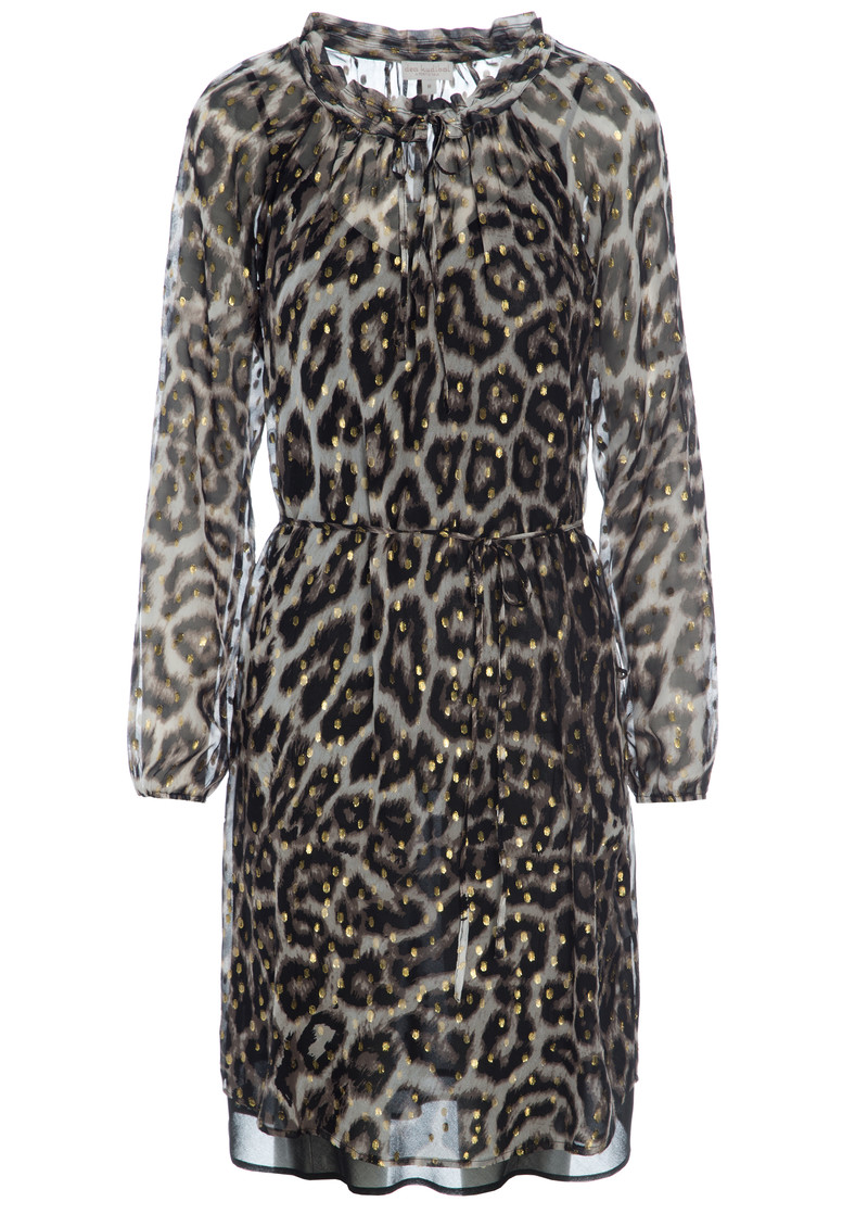 DEA KUDIBAL Amber Exclusive Leopard Dress - Leo Gold main image