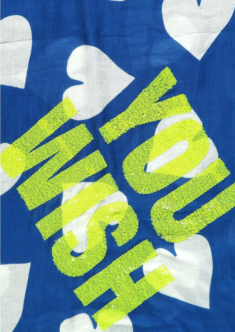 ESSENTIEL ANTWERP Shea 'You Wish' Scarf - Cobalt Blue main image