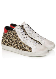 AIR & GRACE Alto Trainers - Leopard Glitter