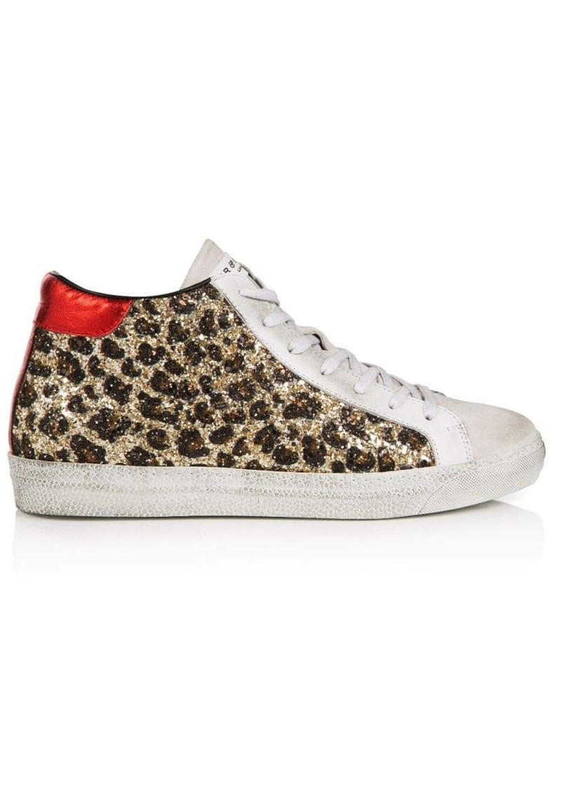 Alto Trainers   Leopard Glitter by Air & Grace