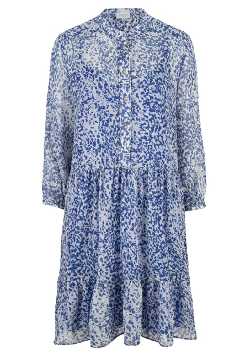 DANTE 6 Lalique Printed Dress - Rebel Blue main image