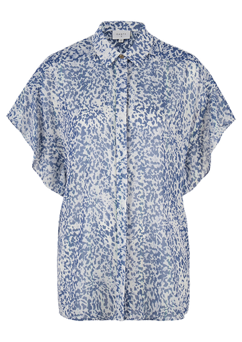DANTE 6 Arabella Printed Blouse - Rebel Blue main image
