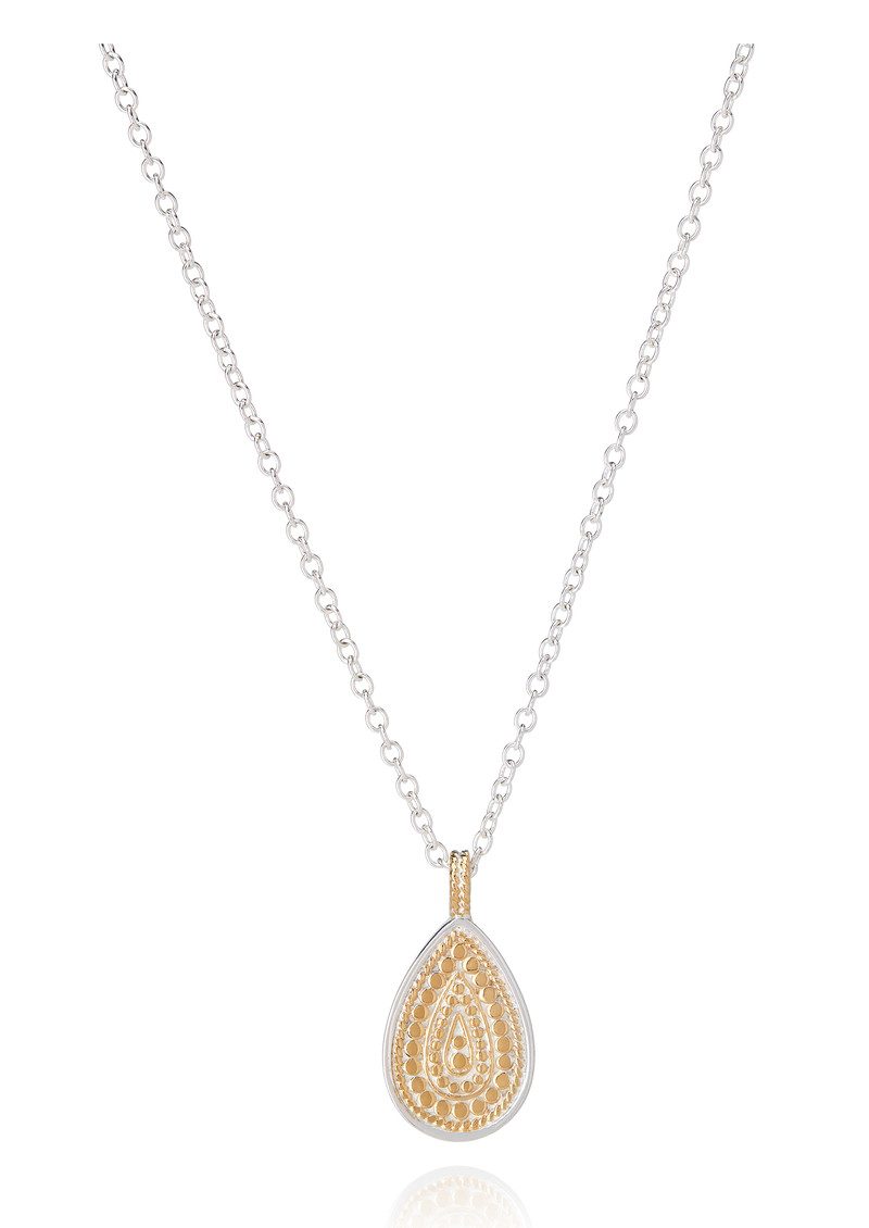 ANNA BECK Signature Beaded Single Drop Pendant Necklace - Gold main image