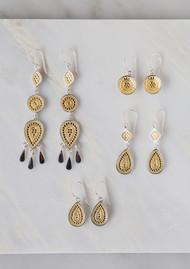 ANNA BECK Signature Dish Drop Earrings - Gold