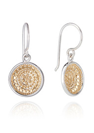ANNA BECK Signature Dish Drop Earrings - Gold