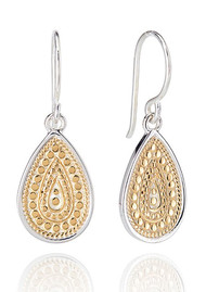 ANNA BECK Signature Medium Beaded Teardrop Earrings - Gold