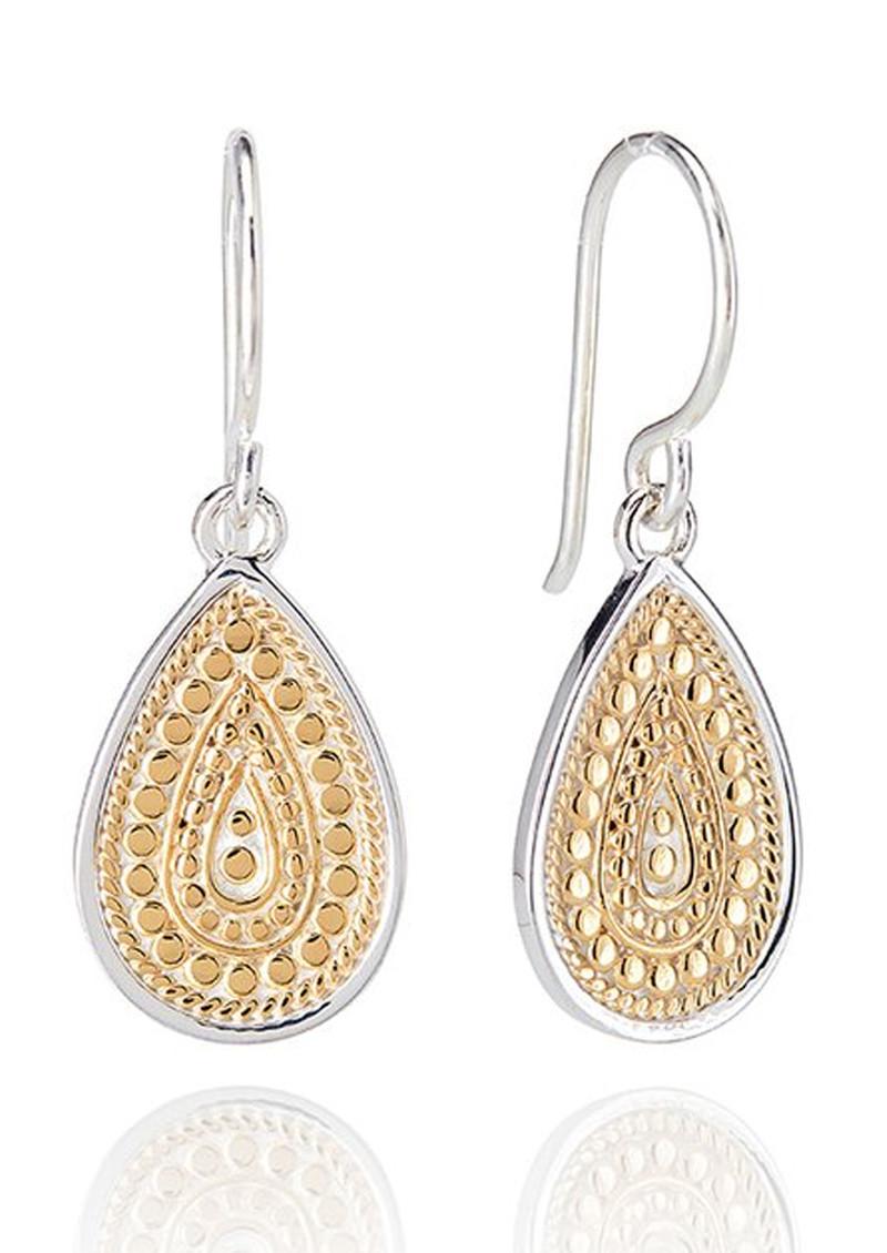 ANNA BECK Signature Medium Beaded Teardrop Earrings - Gold main image