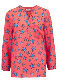 Mercy Delta Stanford Star Blouse - Honeysuckle