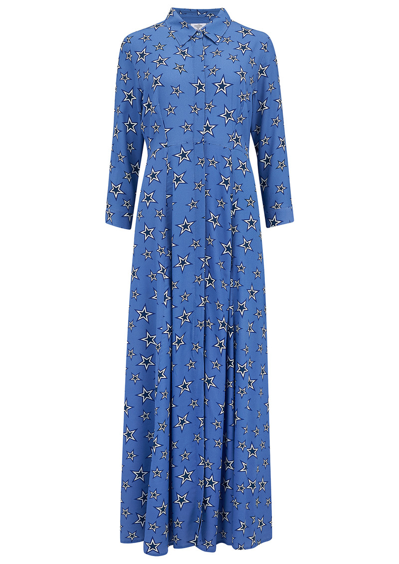 Mercy Delta Rosedene Star Dress - Bluebell main image