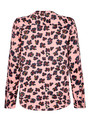 NOOKI Diana Blouse - Pink Leopard