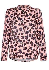 NOOKI Diana Blouse - Pink Leopard
