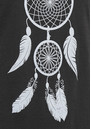 ON THE RISE Dreamcatcher Tee - Black & Silver