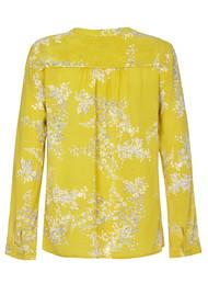 NOOKI Tiana Silk Blouse - Mimosa Blossom