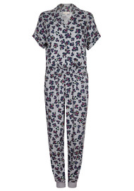 NOOKI Kimie Jumpsuit - Grey Leopard