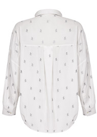 NOOKI Lolita Cat Blouse - White