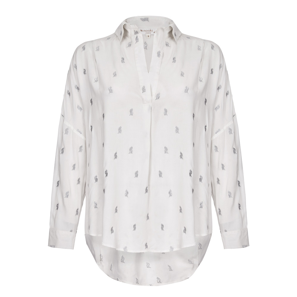 Lolita Cat Blouse - White