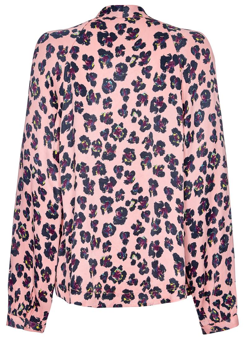 NOOKI Lauren Kimono - Pink Leopard main image