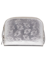 NOOKI Sabina Embosses Bee X Body Bag - Silver
